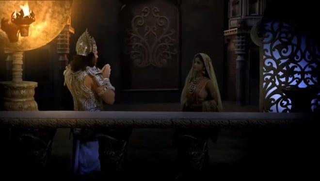 Кадра Махабхарата Царица-мать и Бхишма