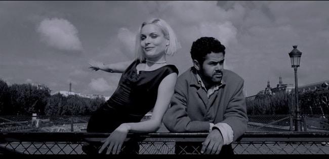 Ангела и Андре на мосту. Фильм Ангел А