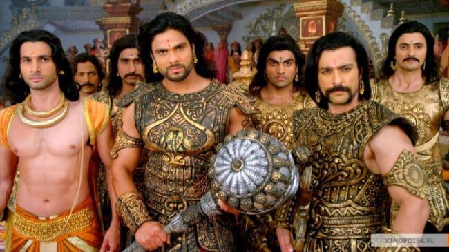 Дурьодхана с братьями