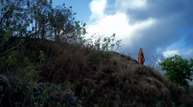Кадр Махабхарата Амба в горах