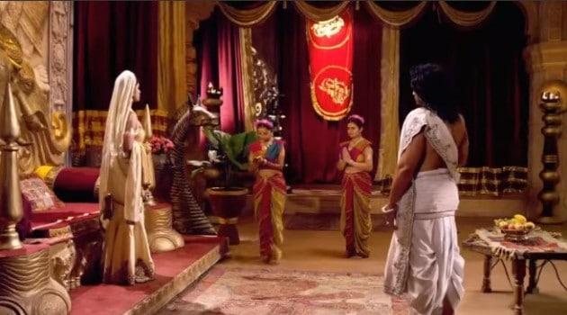 Кадр Махабхарата Весть о рождении принцев