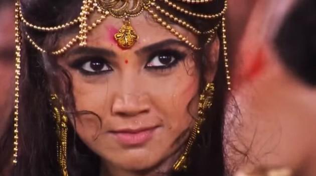 Кадр Махабхарата 6 серия Принцесса Амба
