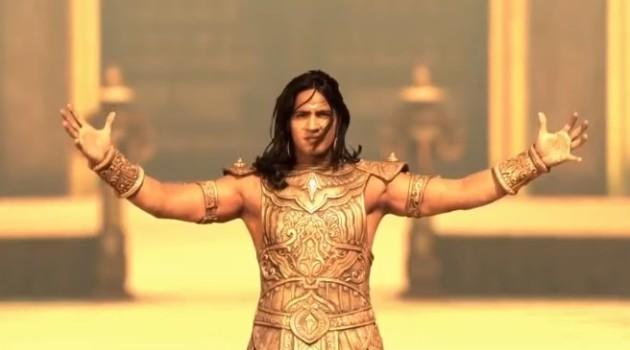 кадр Махабхарата герой принимает овации