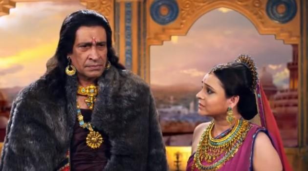 кадр Махабхарата родители Гандхари
