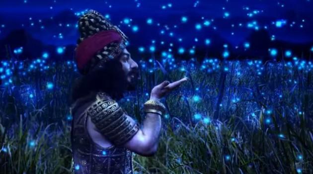 кадр Махабхарата Шакуни и светлячки