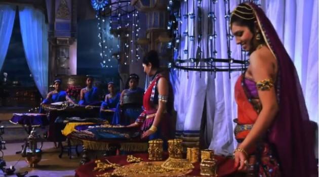кадр Махабхарата свадебные дары Гандхари