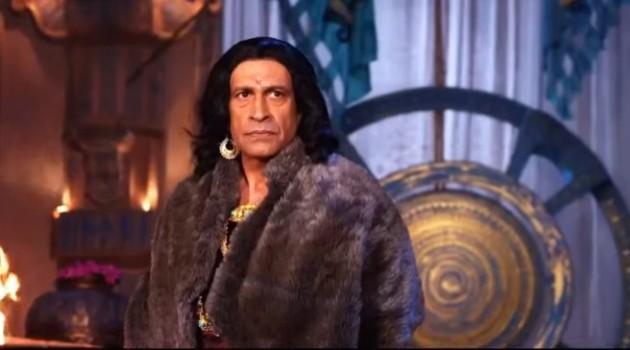кадр Махабхарата царь Субал отвечает Шакуни