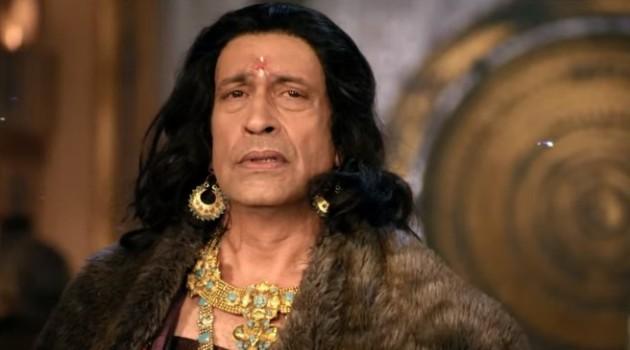 кадр Махабхарата царь Субал слушает Шакуни
