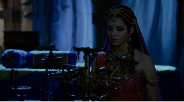 кадр Махабхарата Гандхари привыкает к темноте