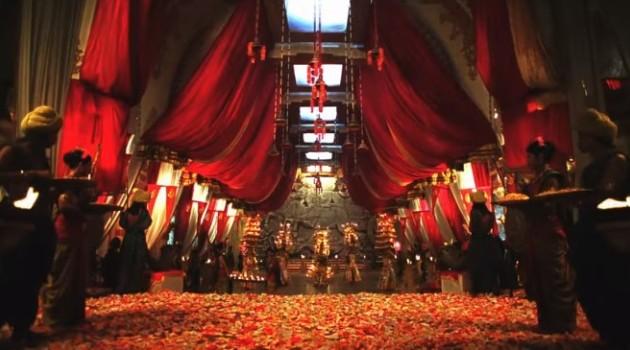кадр Махабхарата дворец готов к свадьбе