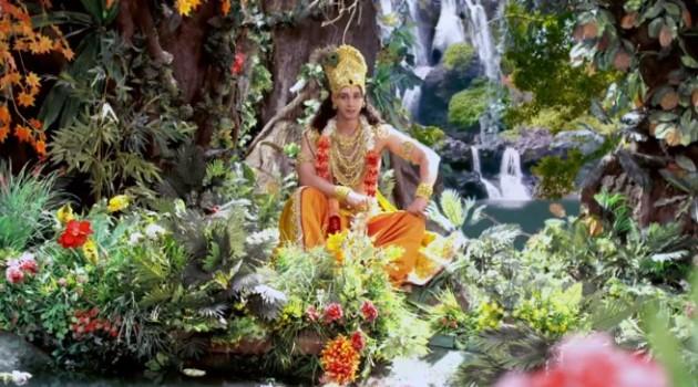 кадр Махабхарата Васудева Кришна