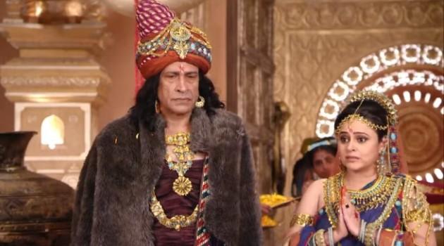 кадр Махабхарата родители невесты