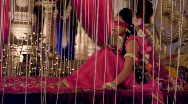 кадр Махабхарата Гандхари ждет мужа