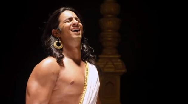 кадр Махабхарата смех сквозь слезы