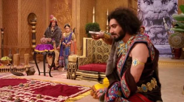 кадр Махабхарата Шакуни ушел с коронации
