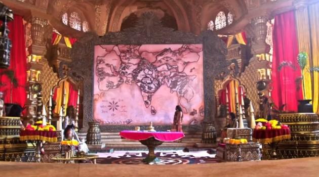 кадр Махабхарата царское собрание
