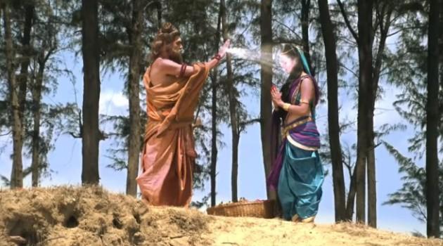 кадр Махабхарата благословение мудреца Дурвасы
