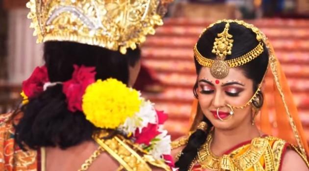 кадр Махабхарата бог Сурья