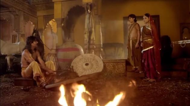 кадр Махабхарата семья колесничего