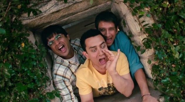 Три идиота фильм Индия друзья