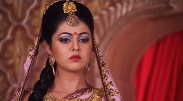 кадр Махабхарата Кунти узнает о женитьбе Панду
